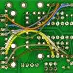 Supplimental-wiring-and-capacitor-on-bottom-of-PCB