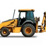 wheeled-digger-excavator-with-backhoe